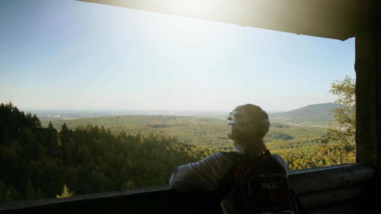 Aussicht von der Lukashütte