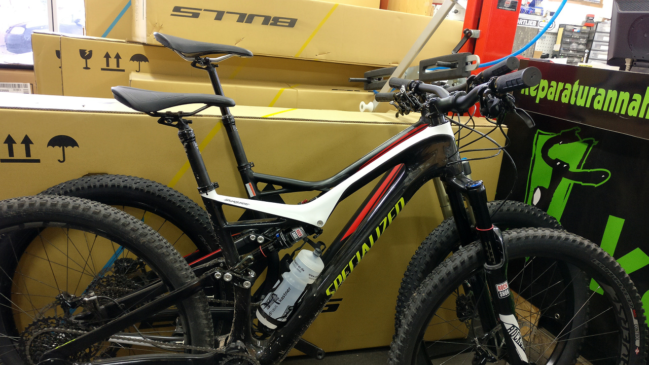 Stumpjumper FSR Expert Carbon 29 vs. 6Fattie