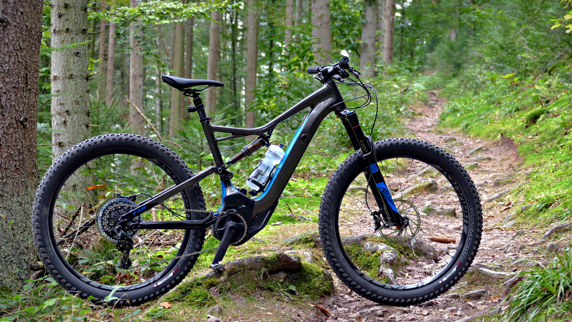 Specialized Turbo Levo Expert 6Fattie im SingleTrail