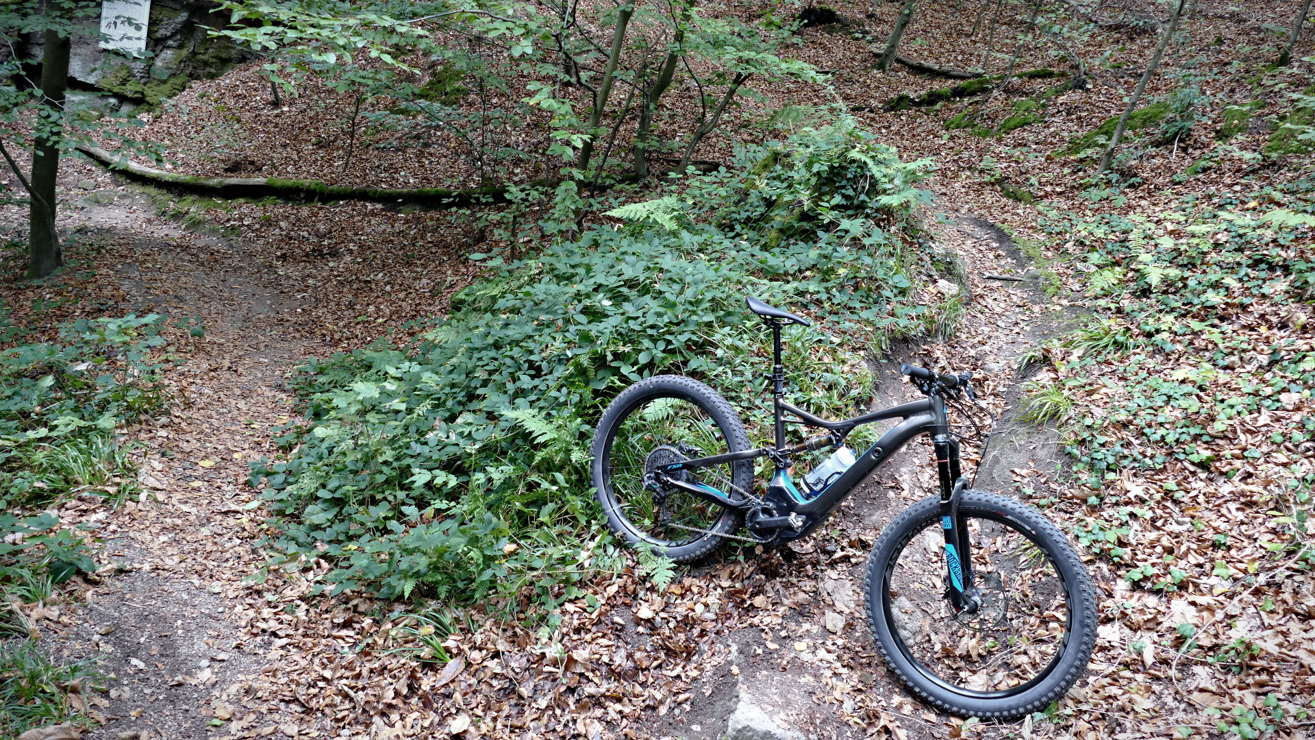 Specielized Turbo levo expert uphill Spitzkehren