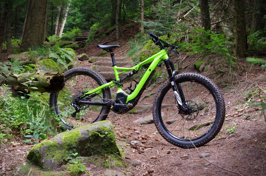 Turbo Levo FSR im Cerro Abajo Trail