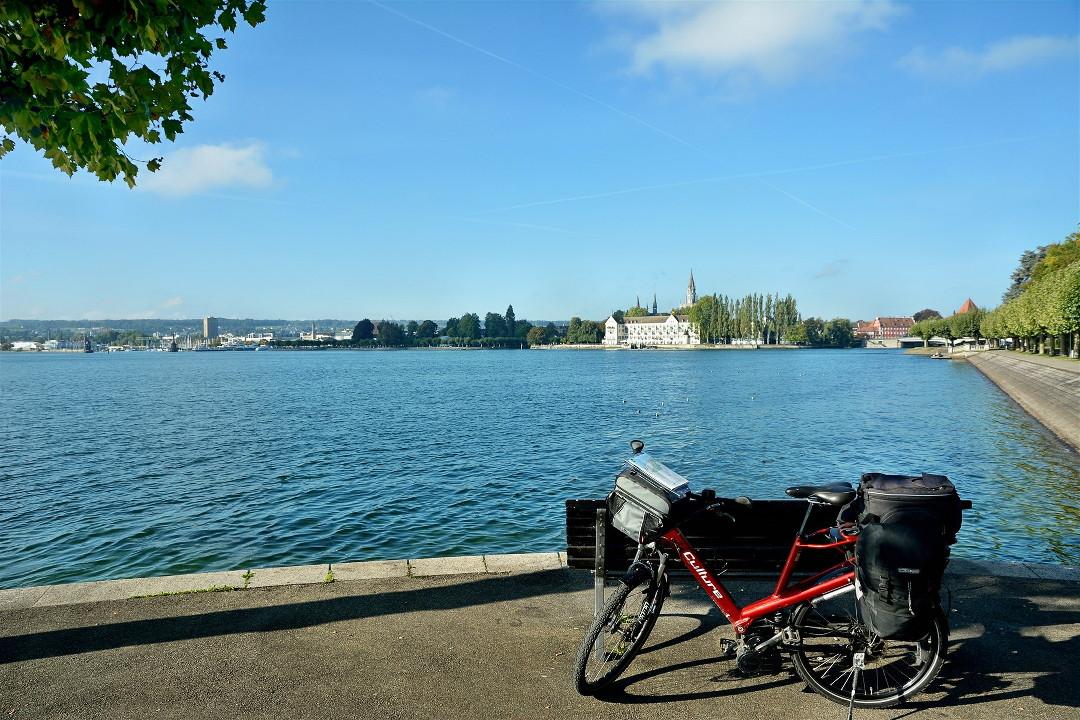 Mit dem E-Bike in Konstanz