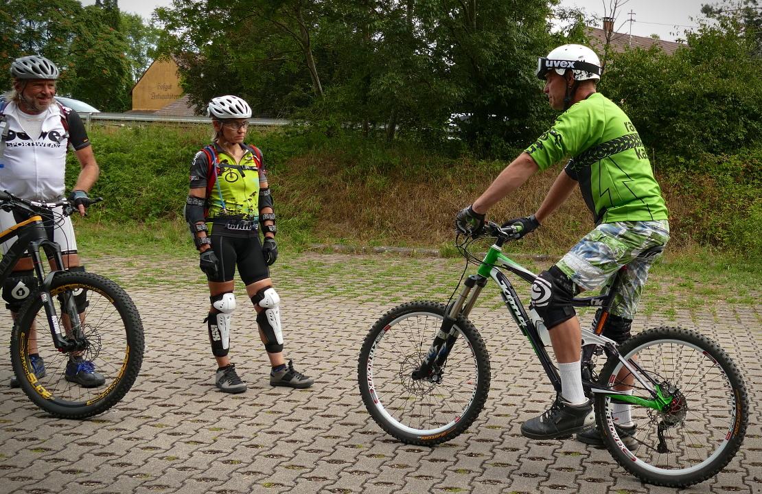 Radhaus Kastner Fahrtechnik Training mit Peter Flechsig
