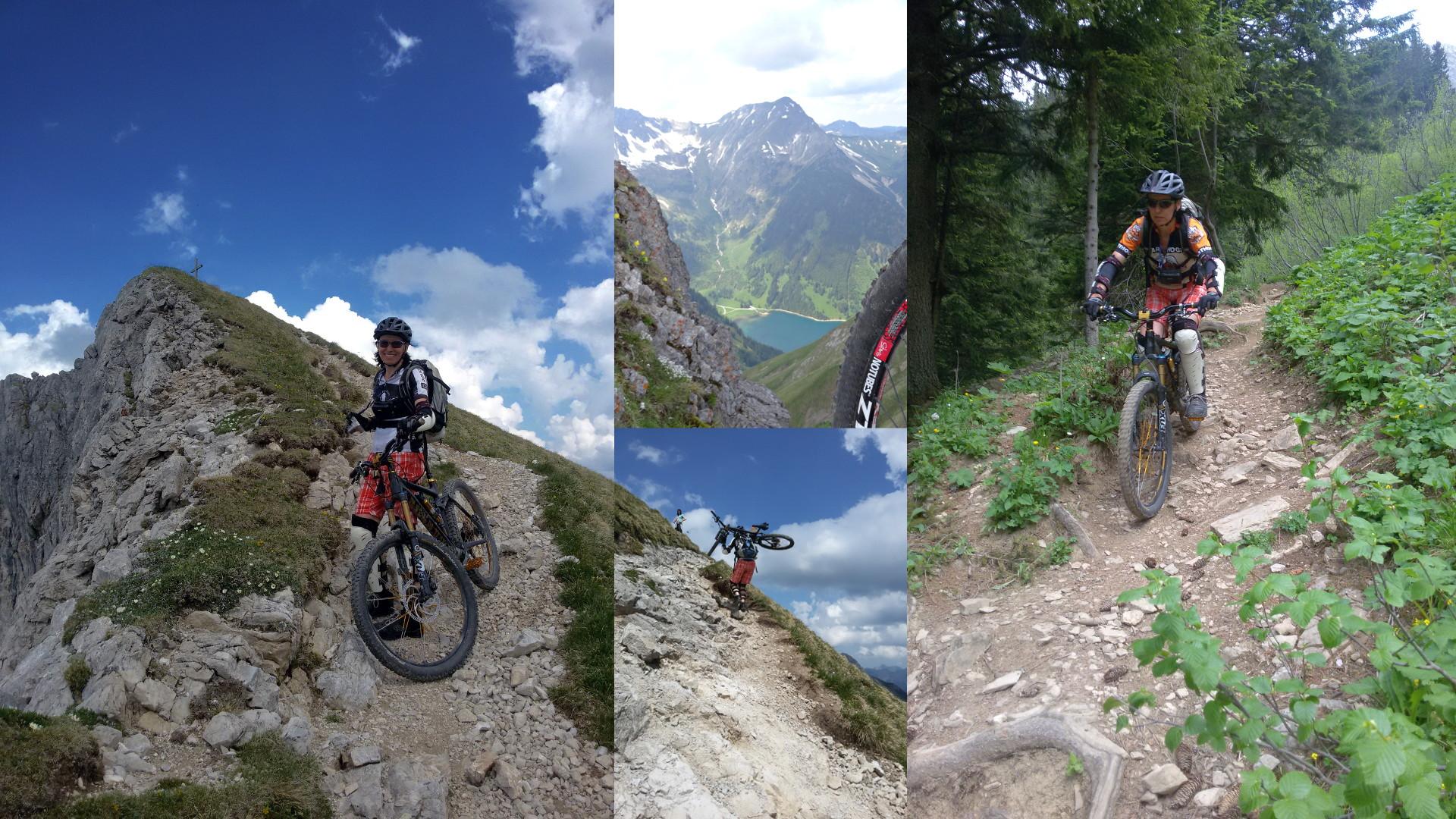 MTB in den Alpen