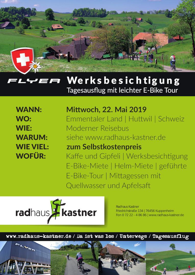 Flyer Werksbesichtigung 2019