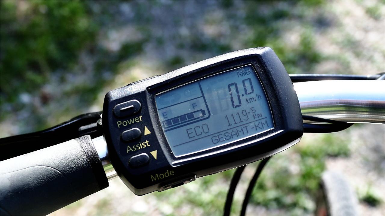 Gebrauchtes E-Bike Flyer T8 schwarz