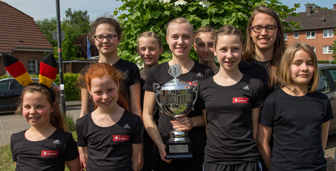 Siegermannschaft KRS Rebland