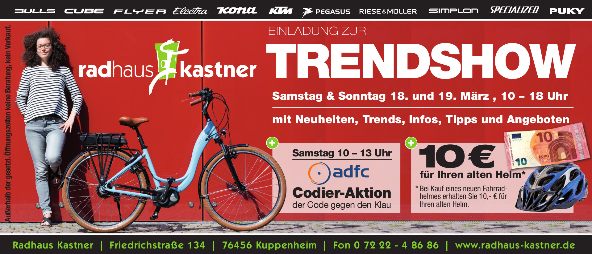 Radhaus Kastner Trendshow 2017