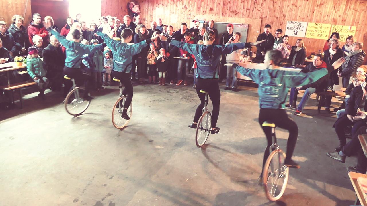 KRS Rebland e.V. Varnhalt Einradshow