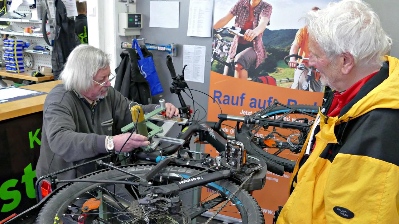 ADFC Codierung E-Biker aus Freudenstadt