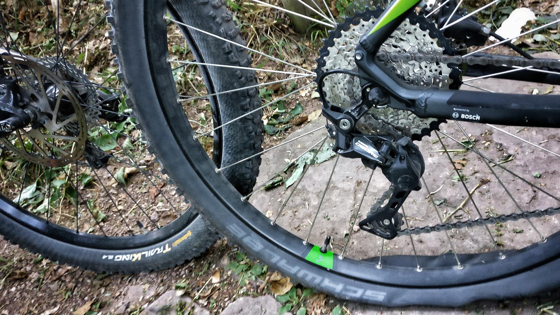 MTB vs. Trekknig Reifen
