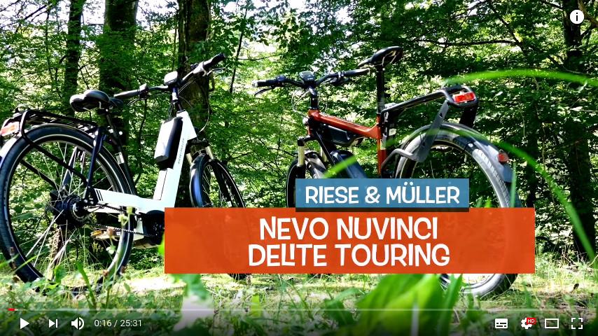YouTube Link zu Riese & Müller Doppeltest Delite Touring