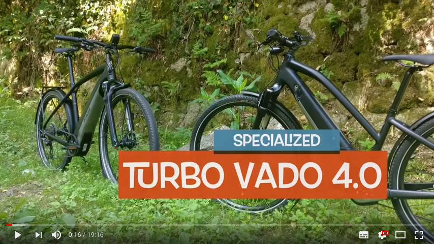 YouTube Link zum Tour de Murg Test des Specialized Turbo VADO