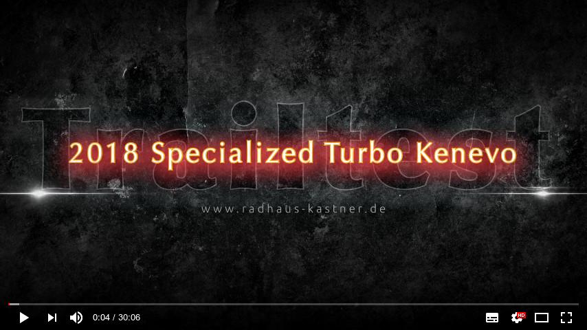 Hier geht's zum Trailtest des Specialized Turbo Kenevo auf YouTube