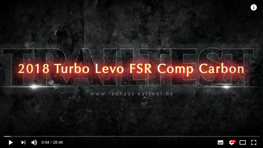 Link zu YouTube des Trailtest Turbo LEVO Comp Carbon